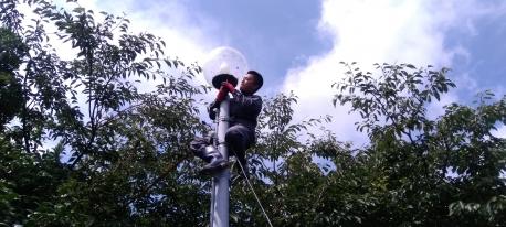 標識灯の交換